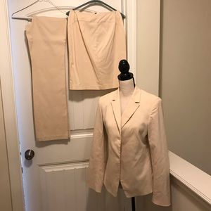 Women's Express suit (jacket, pants and skirt)